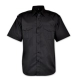 Woven Security Shirt - Avail in: White, Black, Navy