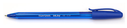 Papermate B2B Pm Inkjoy™ 100 Retractable Ball Pen Blue Medium Bl