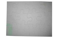 Matte Puzzle - 13 X 17Cm - 12 Piece - Can Be Transferred Onto Wi
