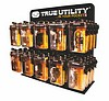 True Utility 10 Hook Black Acrylic Display