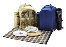 4 Person Picnic Set with Blanket