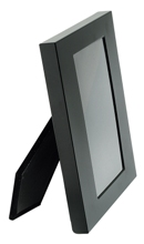Metal photo frame- black