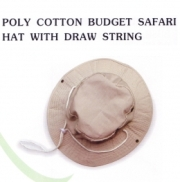 Khaki Safari Hat - Min Order: 10 Units