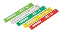 Student Ruler and Pencil Set - Lime