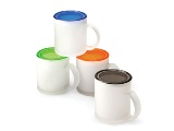 Suncoast mug with coaster - Available in many colours