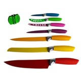 Colorful Knife Kitchen Set - Non Stick 8 Piece
