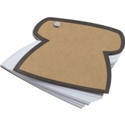 Eco telephone memo note book with 60 pages.