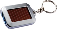 "torch/key ring: 3 LED ""eco-friendly"" solar torch"