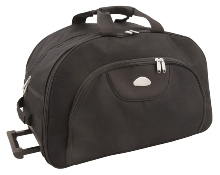 Black Crescent Trolley Bag