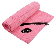Blue or Pink Microfiber Sports Towel