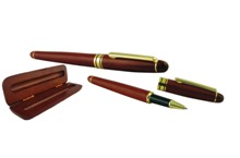 Solara Wooden ball pen with wooden box