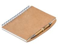 Squiggle Eco Notebook - Avail in: Natural