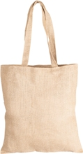 Ecojute Madagascar Bag Drawstrings and Shoppers - Availe in:Natu