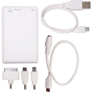 Slim Power Bank and Flash Drive 16GB Technology - Availe in:Whit