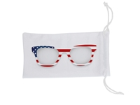 Sunglasses Pouch - Avail in: White