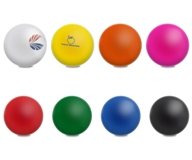 Bounce-Back Stress Ball - Avail in: Pink, Black, White, Orange,
