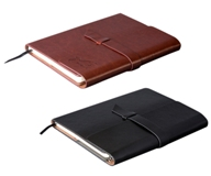 Peninsula Maxi Notebook - Avail in: Black or Brown