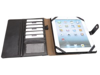 Cambrio Tablet Cover - PU Material - Black - Suitable for most d