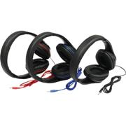 Oval Shaped HeadphonesBlack, Blue or RedBlack, Blue or Red