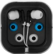 Earphones in Square CaseOrange, Black, Red, White, Blue or Yello