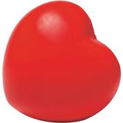 Heart Shaped Stress BallRedRed