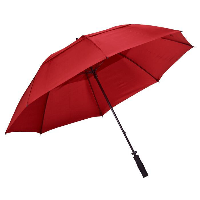 8-Panel Golf Umbrella - Red