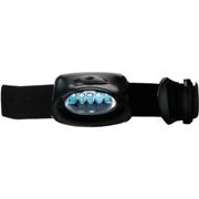 Head Lamp with 5 LED LightsBlackBlack