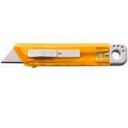 Translucent Cutter - Stanley Knife with Safety MechanismOrange,