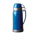 1l Plastic Vacuum Flask - Available in: Black, Blue or Red