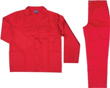 Conti-suit Workwear - Availe in:Royal, Navy, Red, Black, Orange