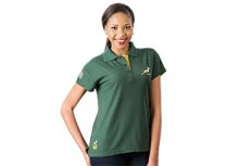 SA Rugby Basic Golfer - Ladies Ladies Golfer - Availe in:Green /