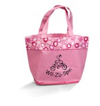 Annabelle Laminated Tote - Available in Pink, Black, Lime, Navy