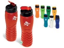 Ridge Water Bottle - Available in Blue, Green, Lime, Orange, Red