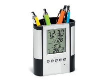 Chronology Clock & Pen Holder -