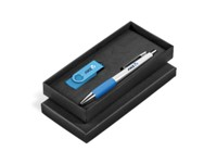 Deuce Silver USB Gift Set - Avail in Black, Blue, Green, Lime, O