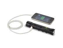 Powertech Power Bank & Torch - 1400mAh - Power up anytime and an