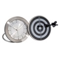 Dart board alarm clock - Assorted colors available