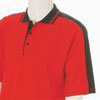 Boys Spring Polo - Red/Black