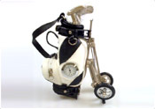 Golf Bag Clock