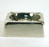 Stainless Steel Ashtray 4 * 10 * 10 cm