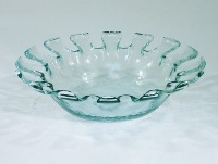 Funky Glass Bowl 20cm Diameter