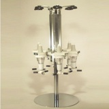 Brew Butler -  Rotary Stand with 6 Assized Optics 25ml