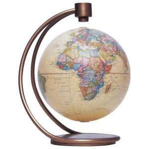 Levitating Globe - Stellanova 8 inch - Antique