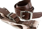 Jekyll & Hide Leather Belt o6 - Light Khaki Brown, Light Khaki G