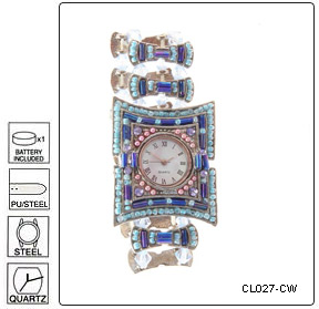 Fully customisable High Fashion Wrist Watch - Design 27 - Manufa