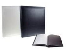 100 Page Picture Album - Scrapbook Rice paper - Available Black