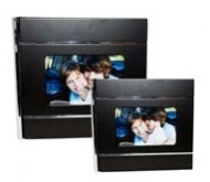 Wood & Metal Photo Album black (4 * 6 inch) 100 Photos