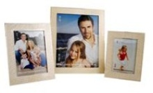 Epoxy Cream Picture Frame (5 * 7 inch)