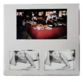 Aluminium Two Tone Picture Frame - 3 Windows