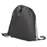 Drawstring Bag - Non-Woven - Black